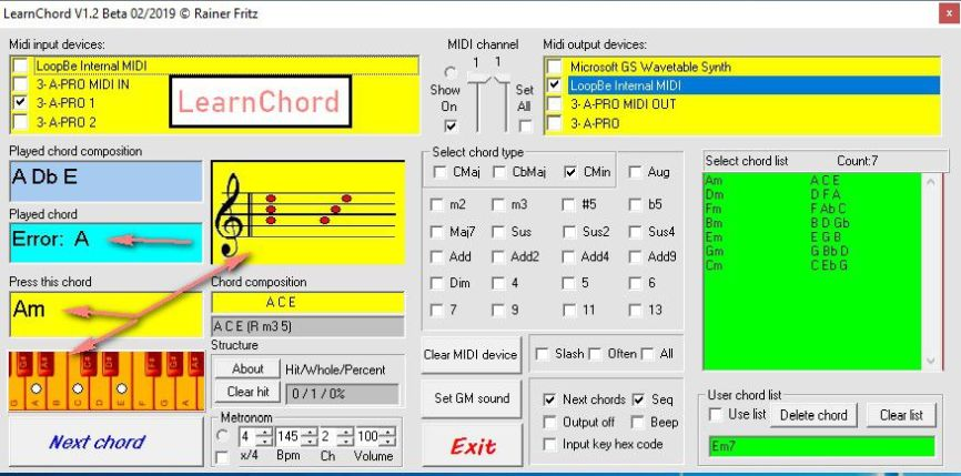 LearnChordV1.3B: Next  Akkords
