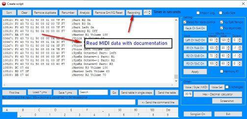 MIDI Monitor SongList V1.3.5